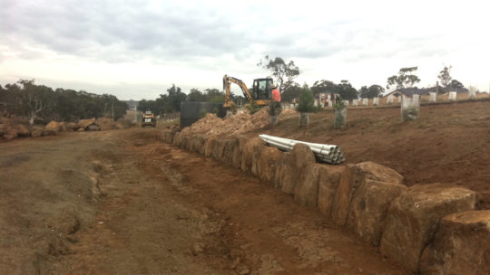Landscaping at Relbia